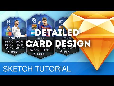 Sketch 3 Tutorial • Detailed Card Design • Sketchapp Tutorial & Design Workflow