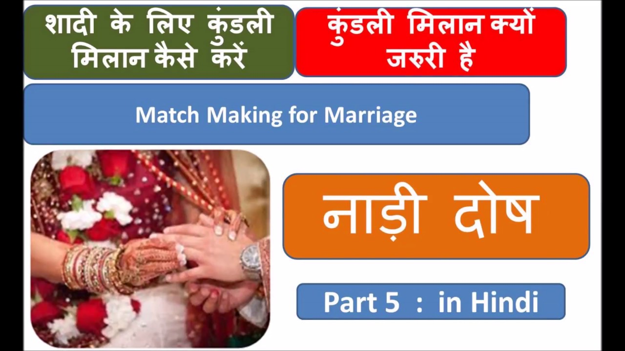 Match making kundali in hindi