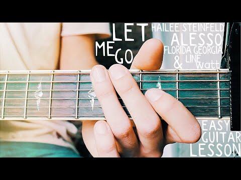 Let Me Go Hailee Steinfeld Guitar Lesson for Beginners // Let Me Go Guitar // Lesson #379