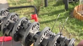 видео Аэраторы вертикуттеры для газона