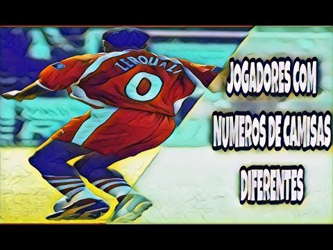 JOGADORES COM NUMEROS DIFERENTES NA CAMISA - YouTube bbeb121f814f9