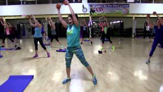 cathe friedrich s cardio core circuit live