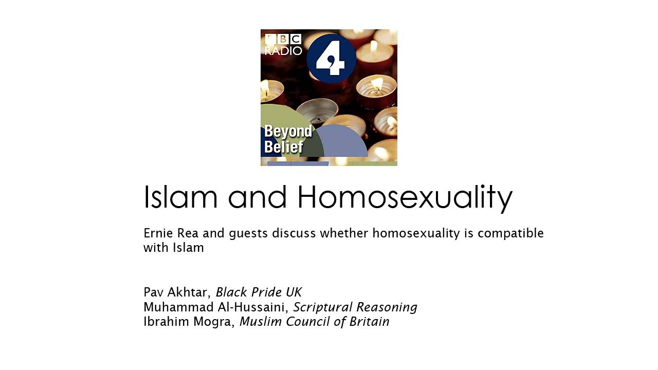 Islam and homosexuality beliefs
