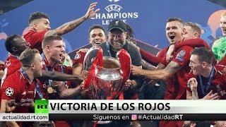 El Liverpool vence al Tottenham y se proclama campeón de la Liga de Campeones por sexta vez