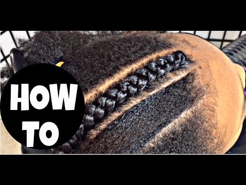 #162. CORNROW WITH WEAVE 101 PART 2