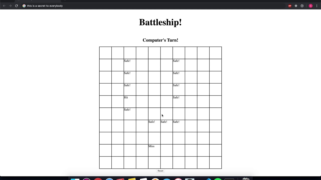 From No Stack To Some Stack Project 2 Battleship By Shaw Kitajima Medium