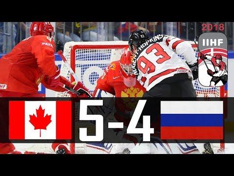 Canada vs Russia | 2018 IIHF Worlds Highlights | May. 17, 2018