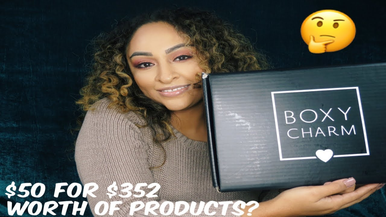 Download December 2018 Boxycharm: Boxyluxe Edition Unboxing/Try On