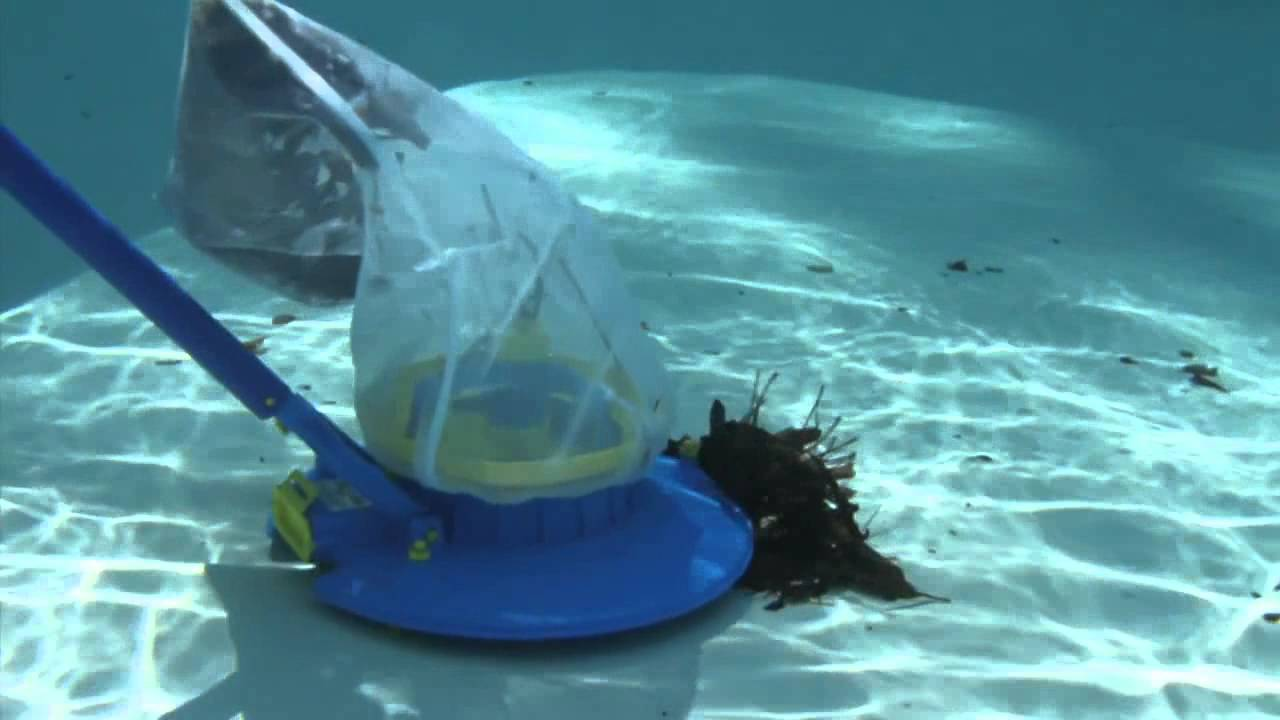 Pool Blaster Leaf Vac Youtube