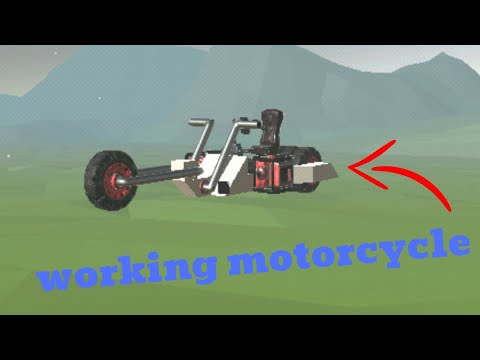 Building Motorcycle In Evertech Sandbox