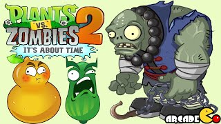 Plants Vs Zombies 2: Kung Fu World Qi Gong Master Gargantuar New Zombie Nunchakus