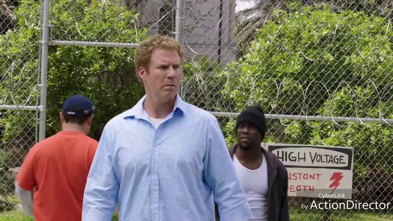 "Get Hard ""the yard"" scene"