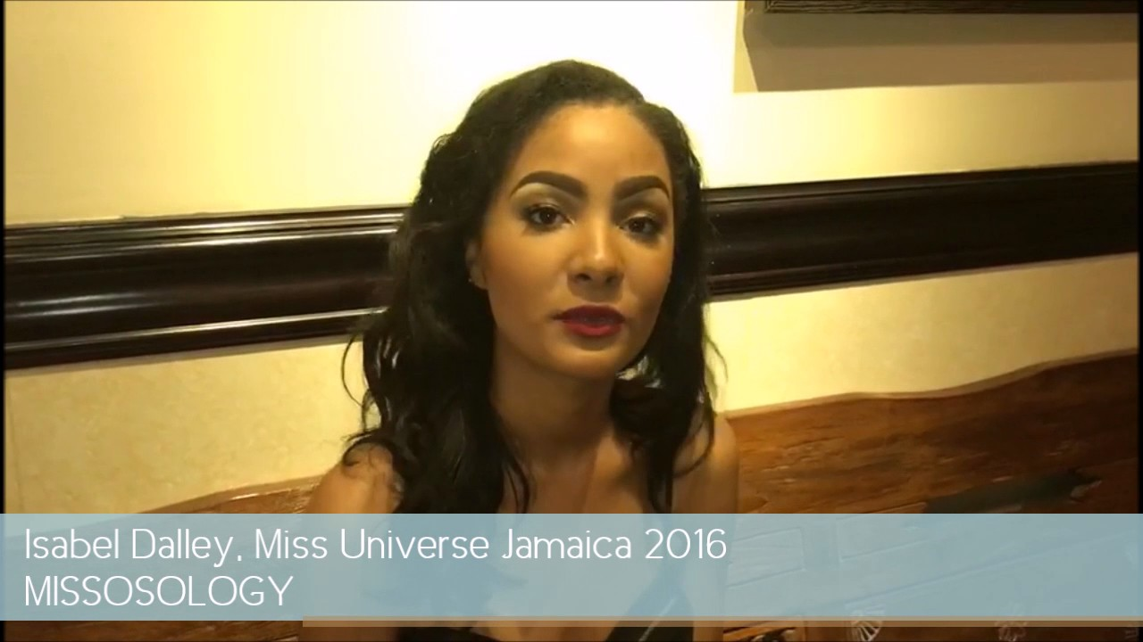 Isabel Dalley, Miss Universe Jamaica 2016, says Hi to