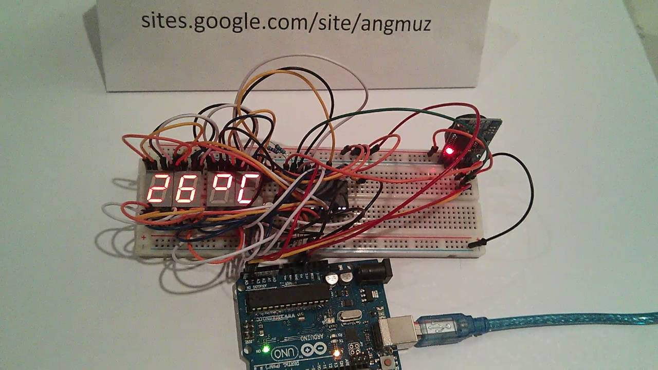 Rtc W Saa1064 Led Driver Arduino 4x7 Segment Display Youtube For Beginners Digital Clock With 7segments And