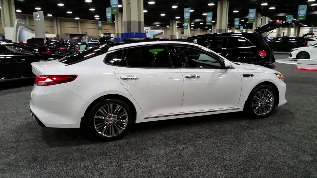 2016 Kia Optima Sx Turbo >> 2017 KIA Optima Review - YouTube