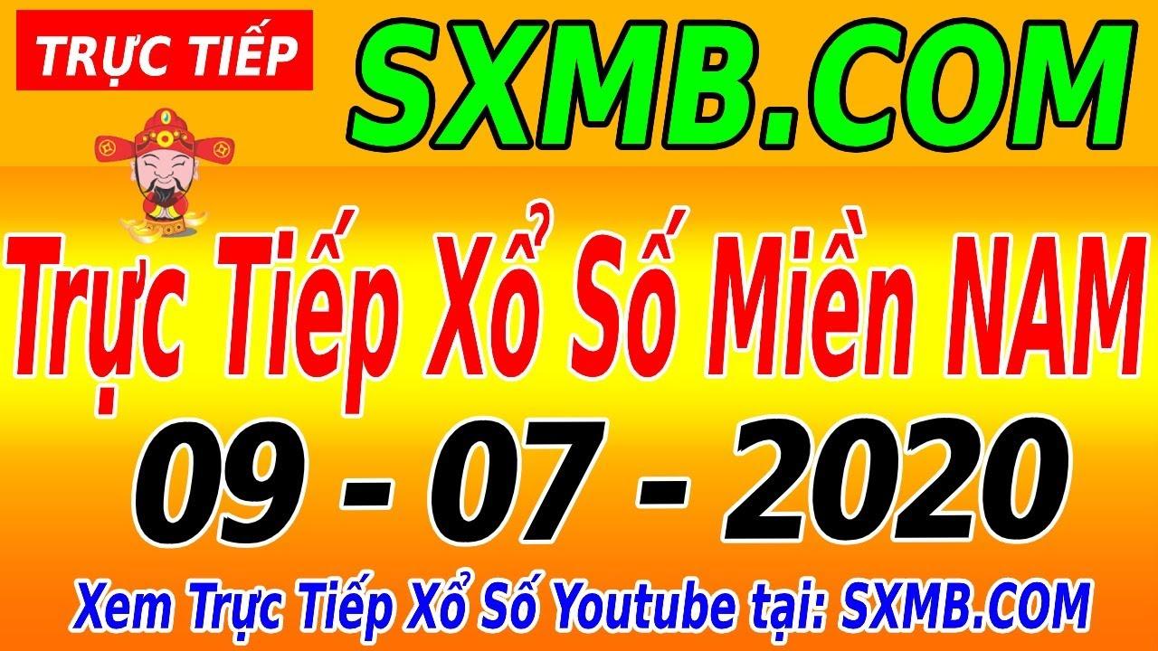 XSMN TRỰC TIẾP XỔ SỐ MIỀN NAM HÔM NAY THỨ 5 NGÀY 09/07/2020, KQXS MIEN NAM