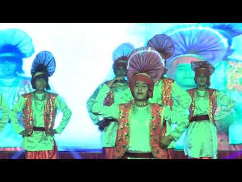 DPS Kaithal GUSTO Annual Function 19th December 2015 (Bhangra)