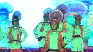 DPS Kaithal GUSTO Annual Function 19th December 2015 (Bhangra)