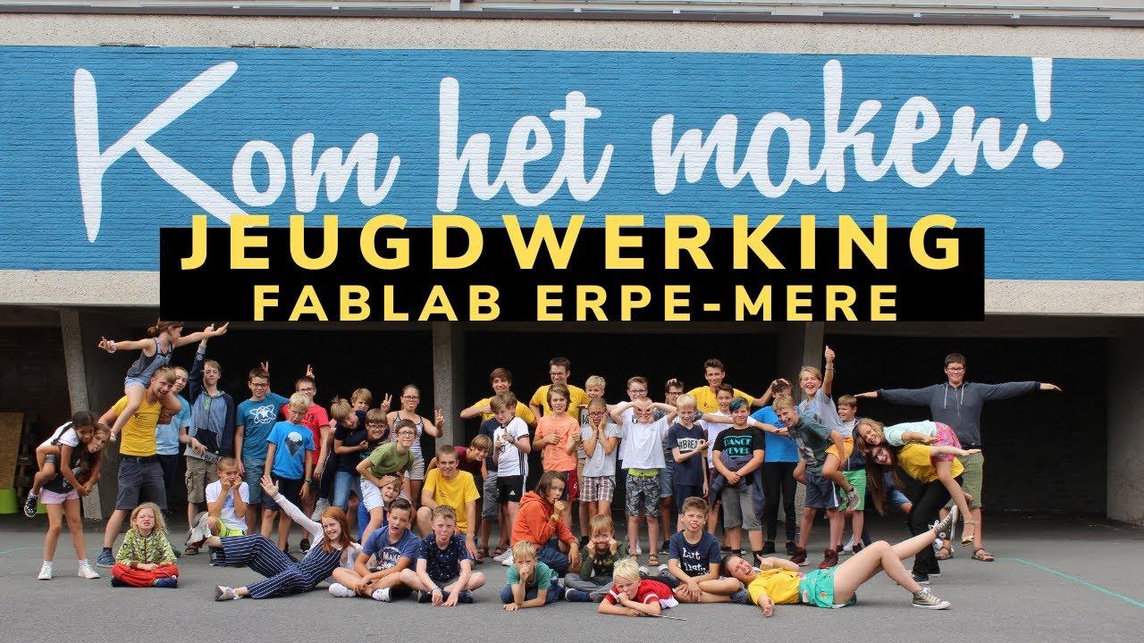 FabLab Erpe-Mere Jeugdwerking Introductie 2020