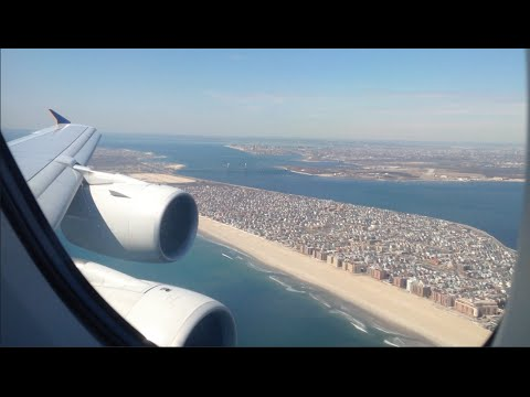 Singapore Airlines Airbus A380-800 Landing + Taxi at New York John F. Kennedy International Airport