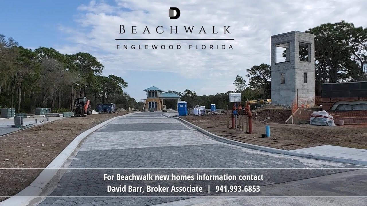 Real Time Drive to the Beach | Beachwalk | Englewood FL ...
