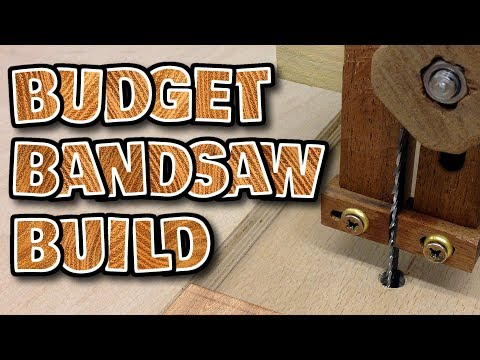 making a BANDSAW - how to make a low cost effective DIY bandsaw at home