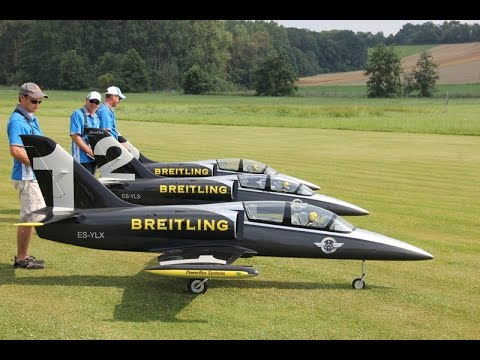 Breitling Jet Team Horizon Aero L-39 Albatros Display aerobatic Flying 2014