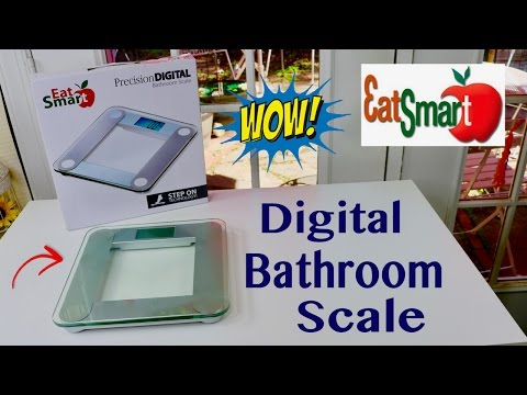 �� EatSmart ❤️ Precision Digital Bathroom Scale Review ✅