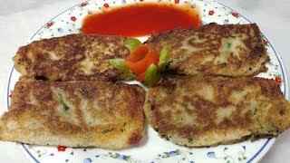 Bread potato kabab - Quick & Delicious - Easy Snack - Kids Special Recipe