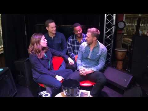Paddy Flueger, Marina Squerciati, Jesse Lee Soffer and LaRoyce Hawkins  Chicago PD