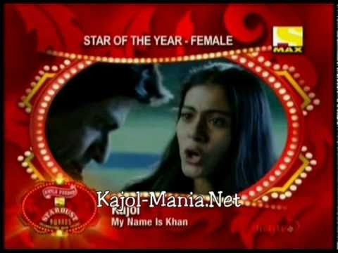 KAJOL STAR OF THE YEAR (2011)