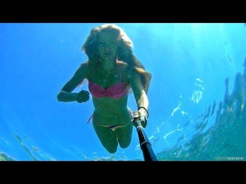 Swimming In The Adriatic Sea