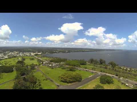 Hilo, Hawaii. First flight out over water, DJI Phantom