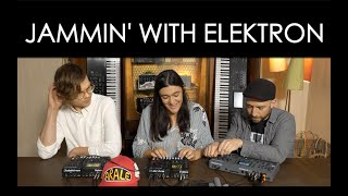 Jammin' with ELEKTRON at Thomann Synth Reactor 2019