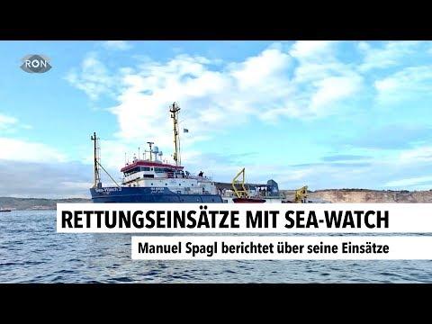 Rettungseinsätze Mit Sea-Watch   RON TV
