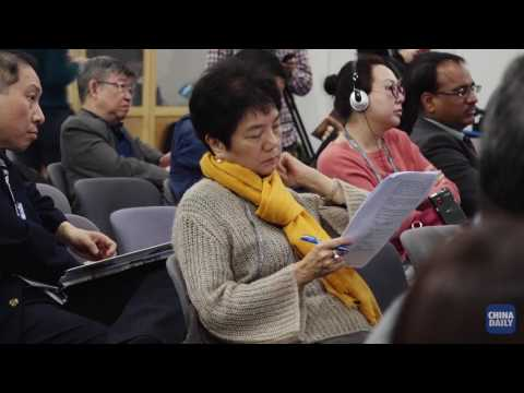 China-India Economic and Business Partnership Panel at Asian Financial Forum 2017