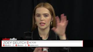Zoey Deutch in Salon Talks, March 20 NY