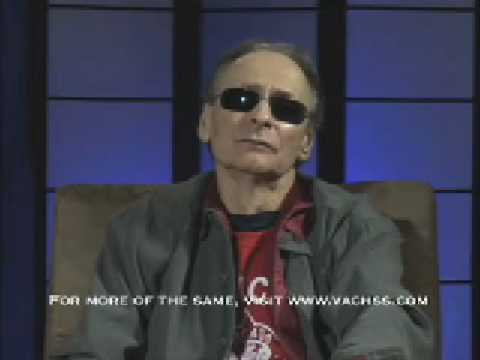 Andrew Vachss talks about his process for writing