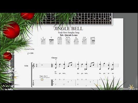 Jingle Bell (Christmas Carol) | Tommy Emmanuel | Guitar Fingerstyle (Full Tab)