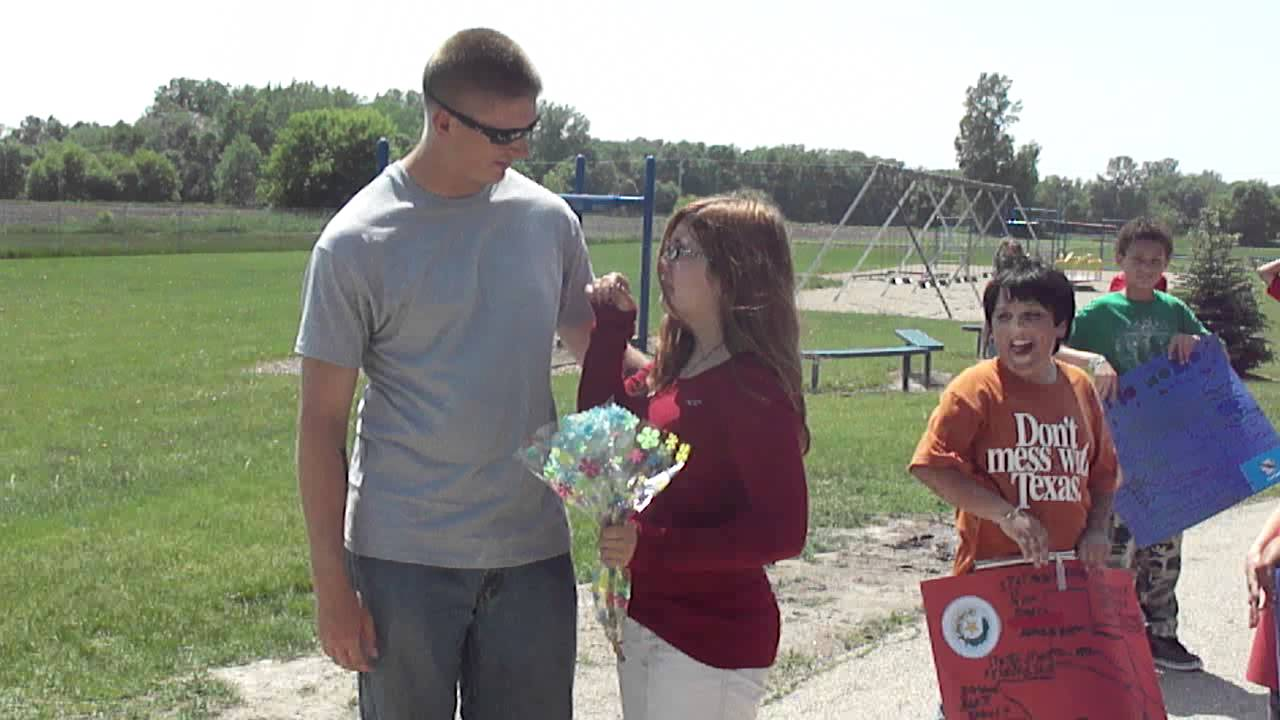 Home Coming - Big Brother Surprises Little Sister - Youtube-4041