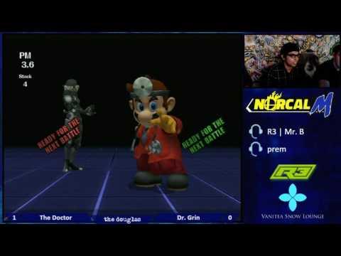 R3 The Douglas - Winners Semis - The Doctor (Mario) v Dr. Grin (Ness & Sheik)