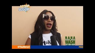 ScoopOnScoop: Sheebah - Jeff Kiwa Question is a Personal One, Singer Gets Bitter on Camera