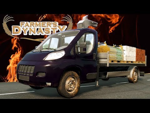 Buying Our First New Vehicle!   Painting And Washing Vehicles   Farmer's Dynasty Part 16