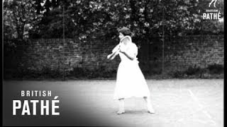 Tennis Tips By Mrs A.E. Beamish (1925)
