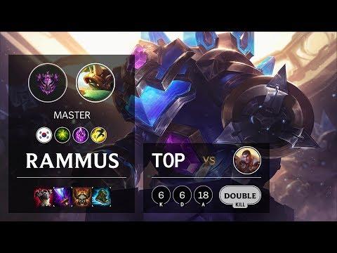 Rammus Top Vs Jayce - KR Master Patch 10.4