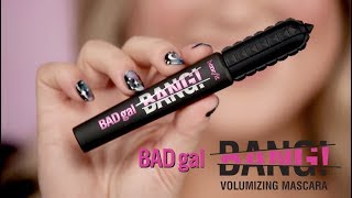 NEW! BADgal BANG! volumizing mascara | get out of this world lashes!