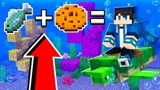 How to RIDE TURTLES in Minecraft TUTORIAL! (Pocket Edition, Xbox, PC)