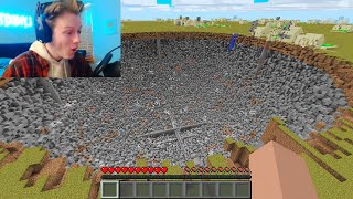 I used a MORE EXPLOSIVES MOD to troll a Streamer in Minecraft...