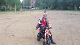 MOTAX 50 cc.Второй день владения мопедом