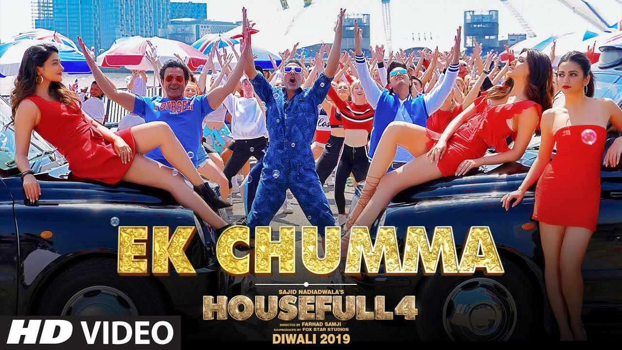 Ek Chumma Video | Housefull 4 | Akshay K, Riteish D, Bobby D, Kriti S, Pooja, Kriti K | Sohail Sen